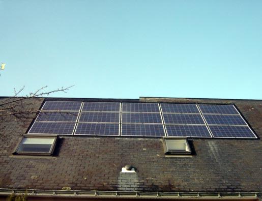 Les panneaux photovolta ques sont